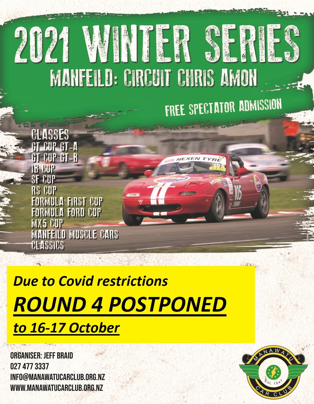Feilding Auto Electrical Winter Series @ Manfeild: Circuit Chris Amon   Feilding   Manawatu-Wanganui   New Zealand