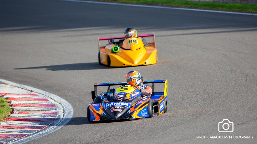 NZ Superkart Drivers Championship Nationals Plus 2K Cup Season 7 Round 2 @ Manfeild: Circuit Chris Amon
