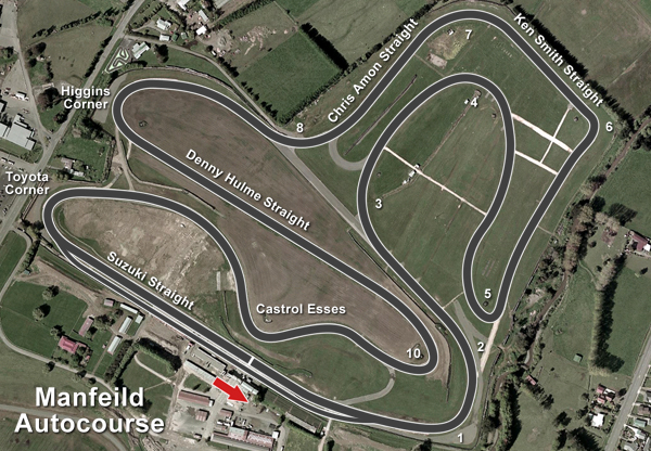Manfeild 4.5km Bent Sprint @ Manfeild: Circuit Chris Amon