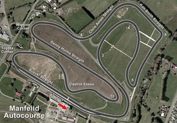 Manfeild 4.5km Bent Sprint @ Manfeild: Circuit Chris Amon